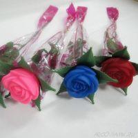 Светящаяся роза ночник