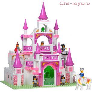 Конструктор Sluban Розовая мечта: Спасение принцессы M38-B0151