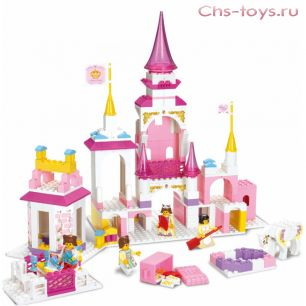 Конструктор Sluban Розовая мечта: Волшебный замок принцессы M38-B0251