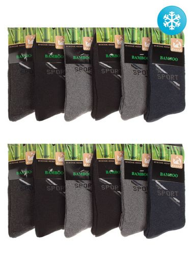 Мужские носки теплые СПОРТ 42-48, №88151