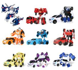 """Набор из 8 Трансформеров MINI Tobots 12 см """" ТОБОТ H, W, Y, R, Z, C, X, ZERO"""""""