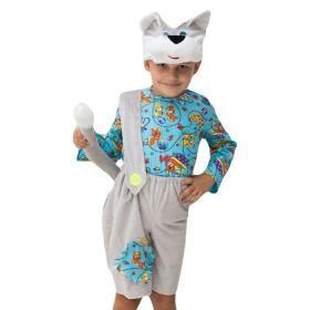 """Карнавальный костюм """"Котёнок"""", шапка, кофта, комбинезон с хвостом, 3-5 лет, рост 104-116 см"""