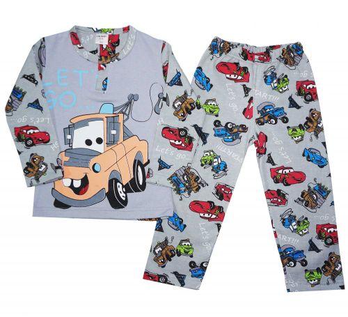 Пижама с начесом для мальчиков 2-6 лет BB030