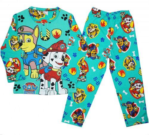 Пижама с начесом для мальчиков 2-6 лет BB031