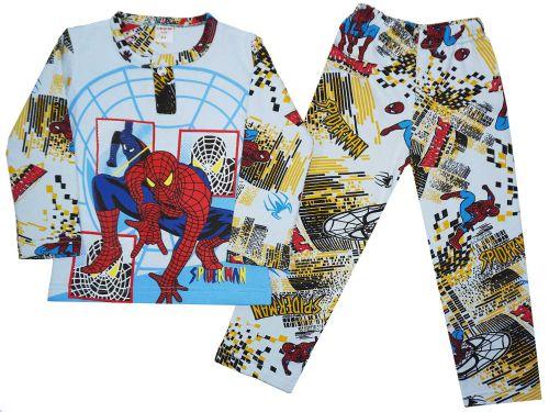 Пижама с начесом для мальчиков 2-6 лет BB032