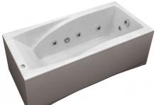 Акриловая ванна BAS Эвита New 180х85 с гидромассажем