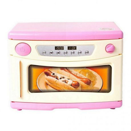 ОР846 Микроволновая печь Морской Бриз розовая