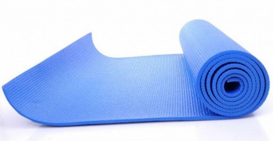 Коврик для йоги Yoga, 137х60 см (Цвет: Синий)