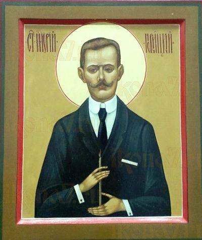 Юрий Новицкий (рукописная икона)