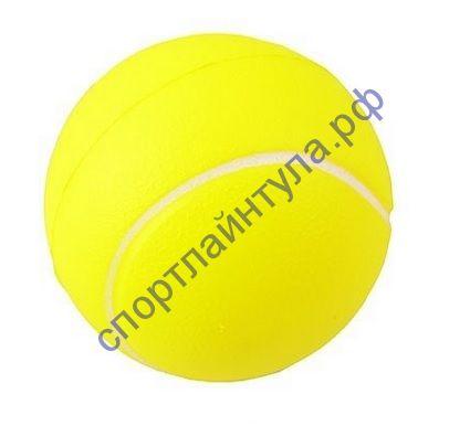 Мяч антистресс PU теннис 7,6см TX31498
