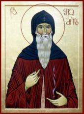Шио Мгвимский (Симеон)  (рукописная икона)