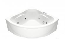 Акриловая ванна BAS  Империал 150х150  с гидромассажем