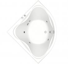 Акриловая ванна BAS  Риола 135х135 с гидромассажем