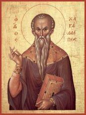 Харалампий Магнезийский (рукописная икона)