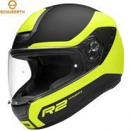 Шлем Schuberth R2 Nemesis, Желто-черный