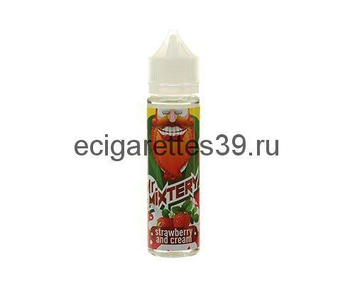 Жидкость Mr.Mixtery 60 мл., Strawberry and Cream