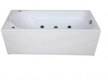 Акриловая ванна BAS  Мальта 170х75 с гидромассажем