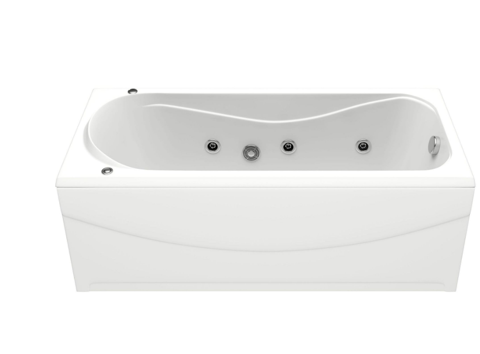 Акриловая ванна BAS  Атланта  170х70 с гидромассажем
