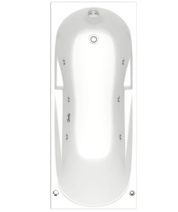 Акриловая ванна BAS  Ибица  150x70 с гидромассажем