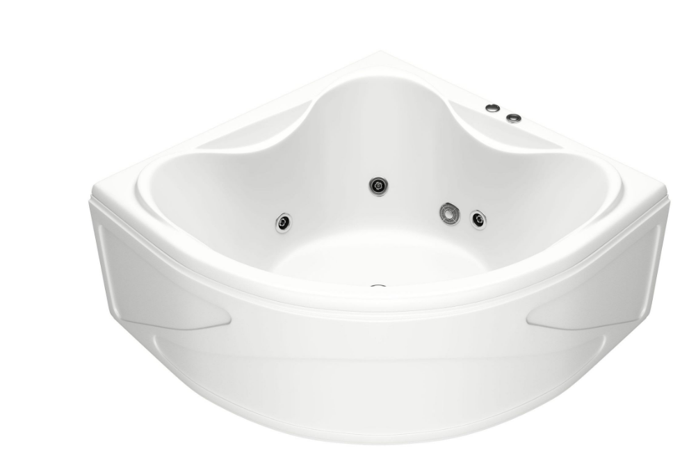 Акриловая ванна BAS  Риола 135х135 без гидромассажа