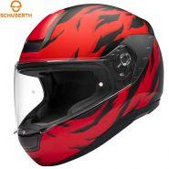 Мотошлем Schuberth R2 Renegade, Красно-черный