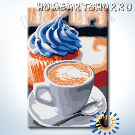"Картина по номерам ""HOBBART Lite. Лучший завтрак"" 20х30"