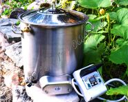 Домашняя мини сыроварка-пастеризатор 15 литров.