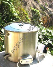 Домашняя мини сыроварка-пастеризатор 25 литров.