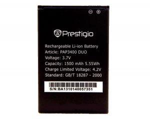 Аккумулятор Prestigio MultiPhone PAP3400 DUO Оригинал