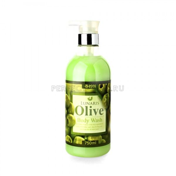 Lunaris Body Wash Olive