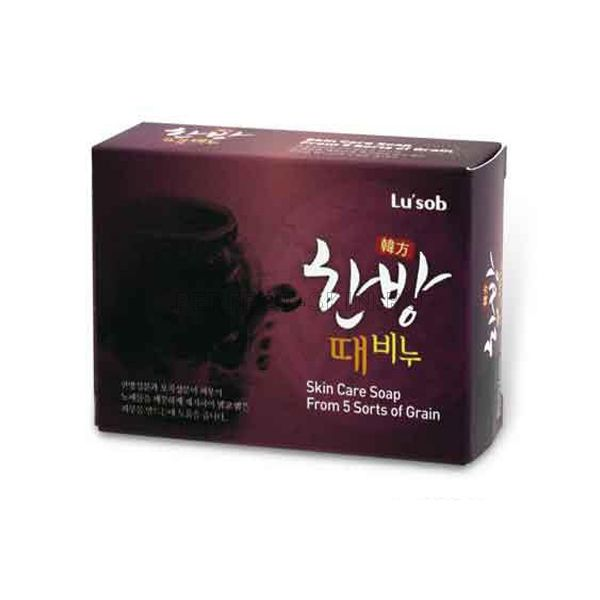 DongBang Oriental Herb & 5Grain Scrub Soap