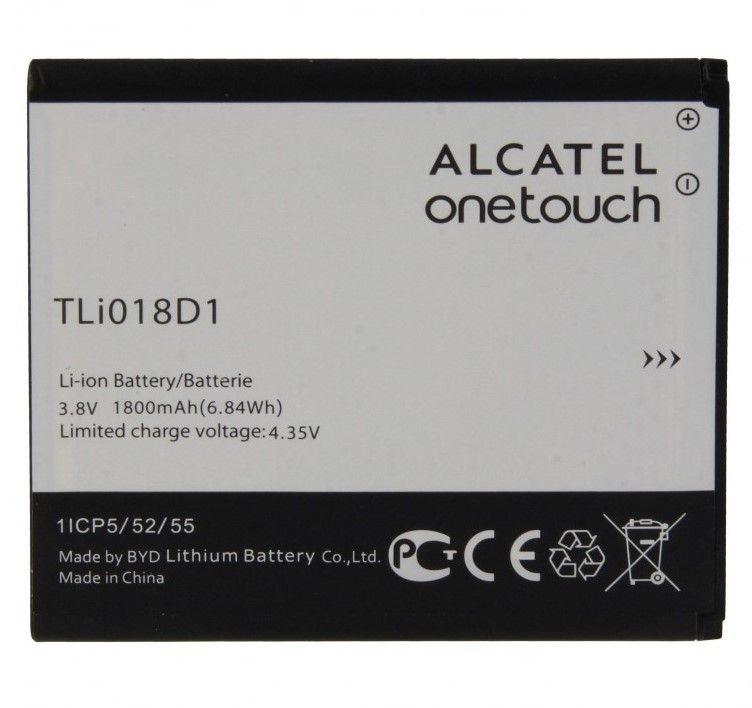 Аккумулятор Alcatel 5015D One Touch POP 3/5038D POP D5 (TLi018D1) Оригинал