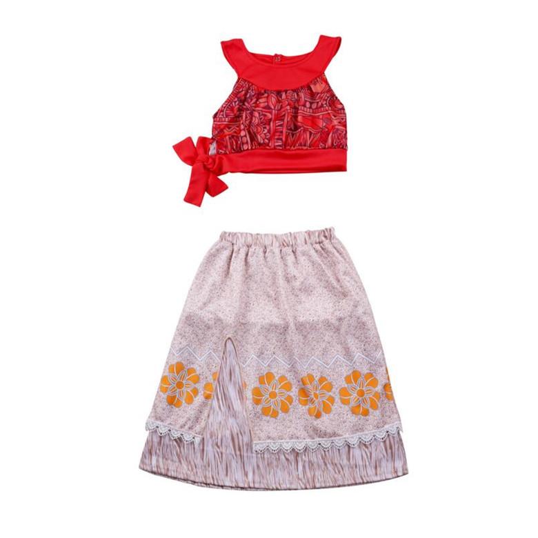 Костюм Моана платье