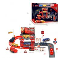 Игровой набор Тачки трек парковка 660-А106