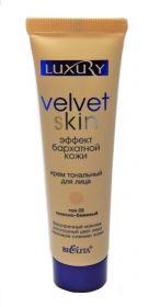 Белита Luxury Velvet skin Крем тональный телесно-бежевый 02 «Эффект бархатной кожи» 30 мл.