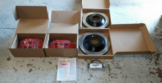 Комплект тормозной системы TRD Toyota Tundra 2