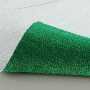 №804 металл Гофр.бумага (зеленый металл)