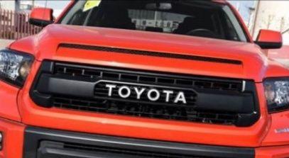 Решетка радиатора Toyota Tundra 2014-17