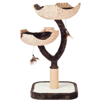 Игровой комплекс-когтеточка Ferribiella Tiragraffi Matisse Матисс для кошек 45х45х89см