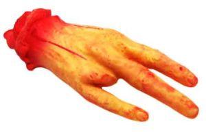 Рука оторванная без пальца