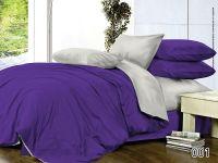 Однотонное постельное белье фиолет рис.001