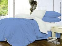 """Однотонное постельное белье """"голубая гладь рис.003"""""""