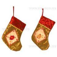 Носок для подарков, H 18 см (арт. 537432) (07321)