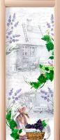 Наклейка на дверь - Письмо Изабель | магазин Интерьерные наклейки