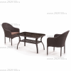 Комплект мебели Джина (2+1)