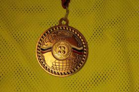 Медаль большая 70 мм 3 место
