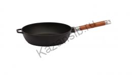 Сковорода чугунная глубокая d. 24см