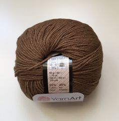 Jeans (Yarnart) 40-коричневый