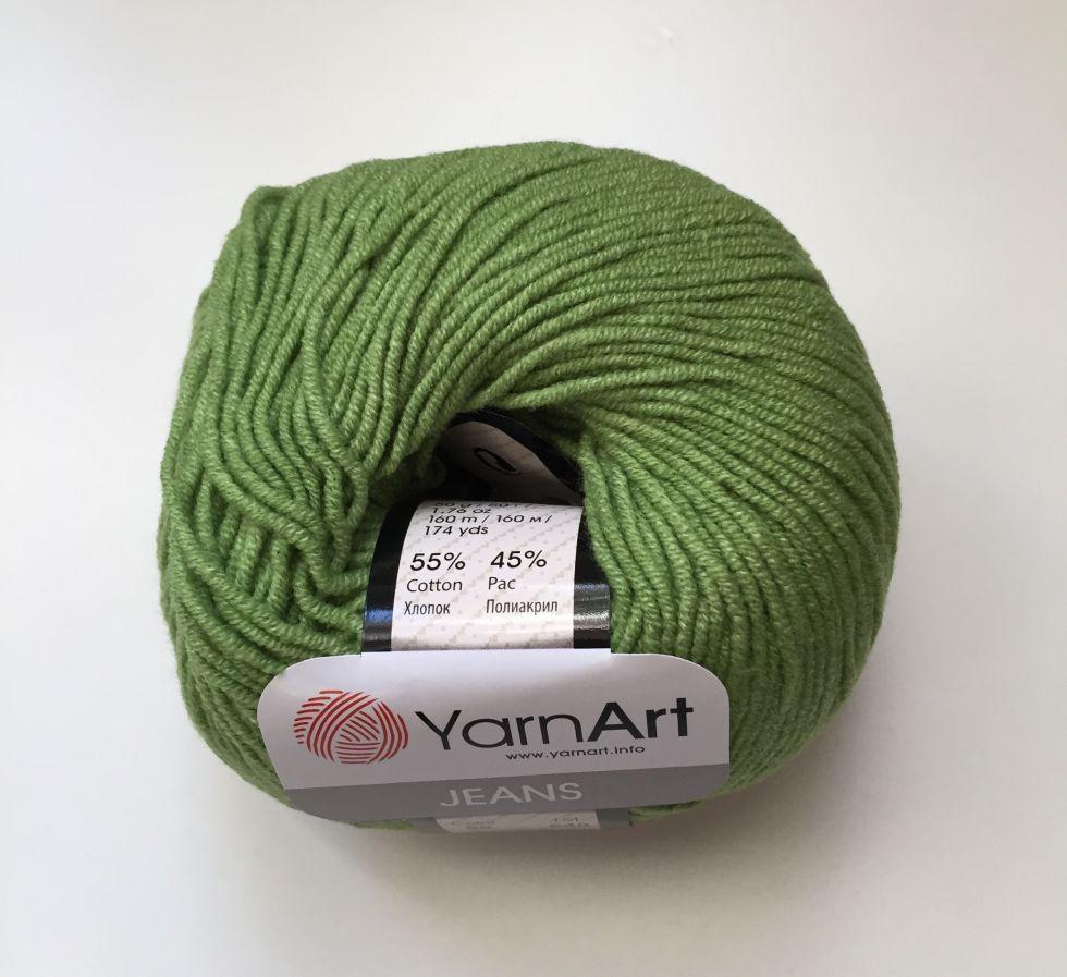 Jeans (Yarnart) 69-зелень