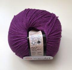 Jeans (Yarnart) 50-фиолетовый